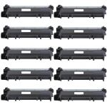 Brother TN660 Toner Cartridges High Yield 10-Pack