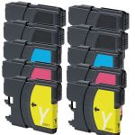 Brother LC65 Ink Cartridges - LC65 Series 10-Pack