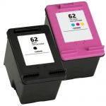 HP Ink 62 Combo Pack 2 Cartridges