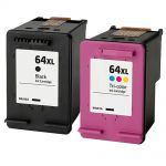 HP 64XL Ink Combo Pack of 2 Ink Cartridges