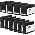 HP 950XL 951XL Value Pack of 10 Ink Cartridges