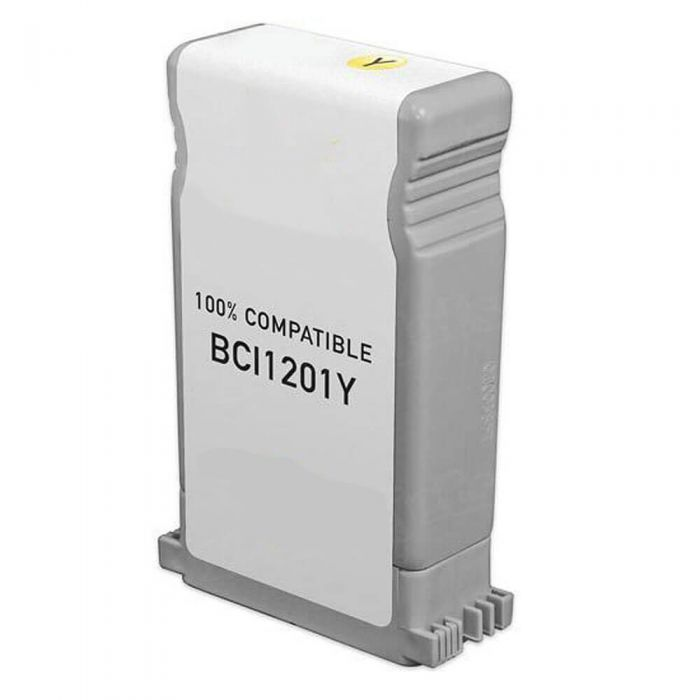 Canon BCI-1201Y Compatible Yellow Inkjet Cartridges for Canon N1000/N2000 Printers