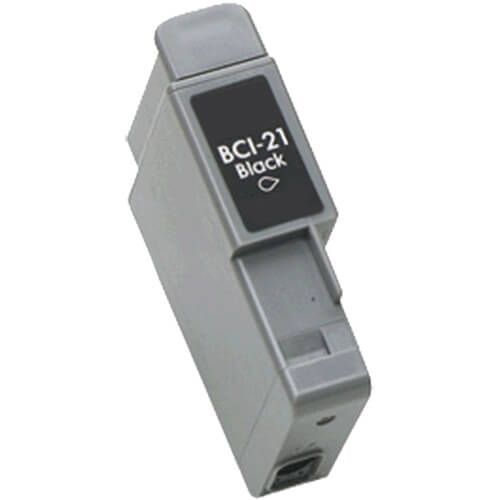 Canon BCI-21BK Compatible Black Inkjet Cartridge for Canon BJC-400j/Fax B740/Multipass C20 Printers