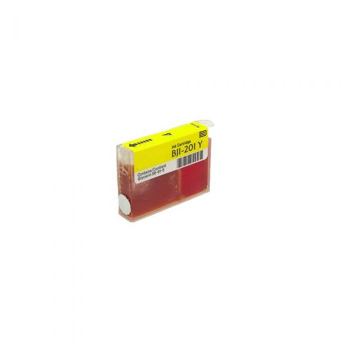 Canon BJI-201Y HC High Capacity Compatible Yellow InkJet Cartridge for Canon BJC-600