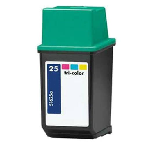Replacement for Hewlett Packard 51625A (HP 25 Tri Color) Ink Cartridge