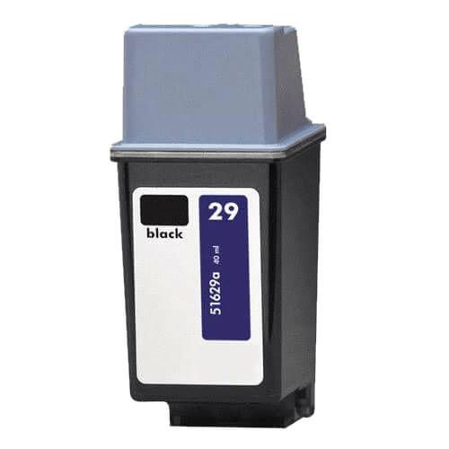 Replacement for Hewlett Packard 51629A (HP 29 Black) Ink Cartridge