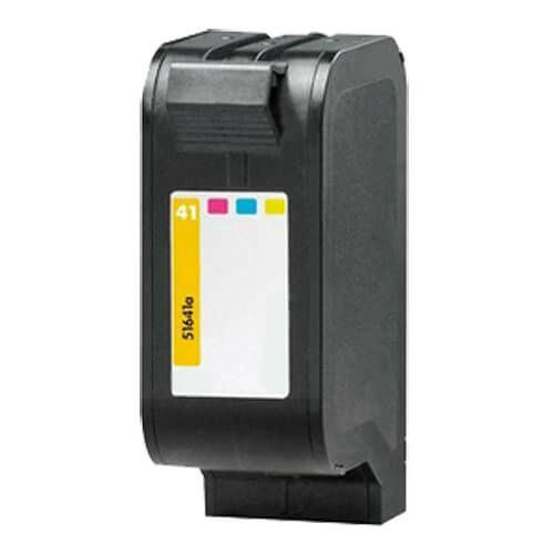 Replacement HP 41 Ink Cartridge Tricolor - 51641A