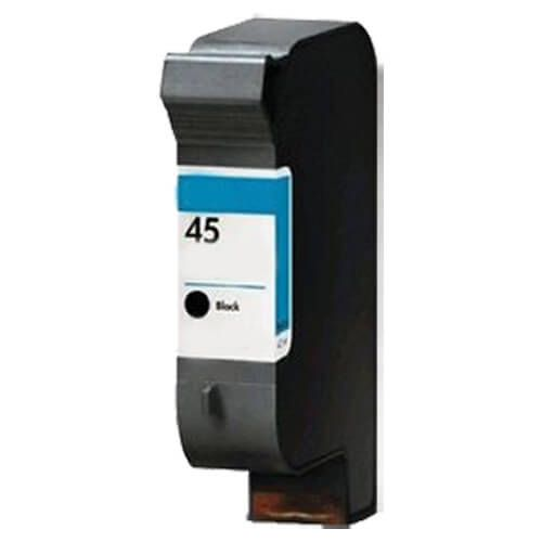 Replacement HP 45 Ink Cartridge - Black - 51645A