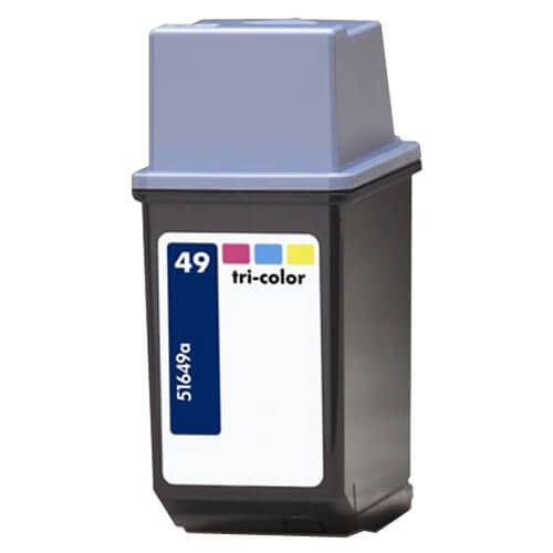 Replacement for Hewlett Packard 51649A (HP 49 Tri Color) Ink Cartridge