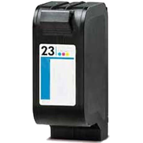 Replacement HP 23 Ink Cartridge - C1823D Tri-color