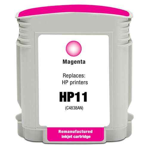 Replacement for Hewlett Packard C4837AN / C4837A (HP 11 Magenta) Ink Cartridge