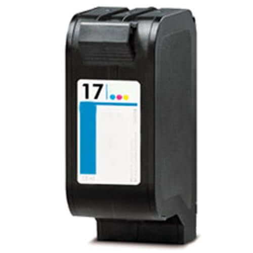Replacement HP 17 Ink Cartridge Tricolor - C6625AN
