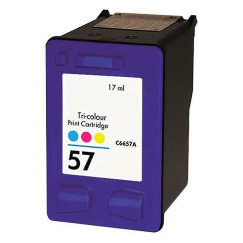 Replacement HP 57 Ink Cartridge - Tricolor - C6657AN / C6657A