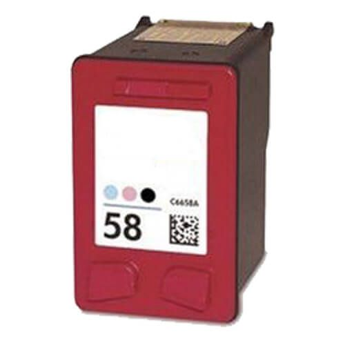 Replacement HP 58 Ink Cartridge - Photo Color - C6658AN / C6658A