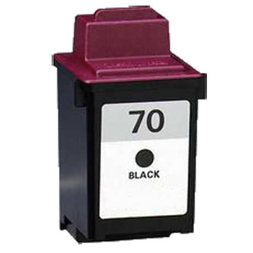 Replacement Lexmark 70 Ink Cartridge Black - 12A1970