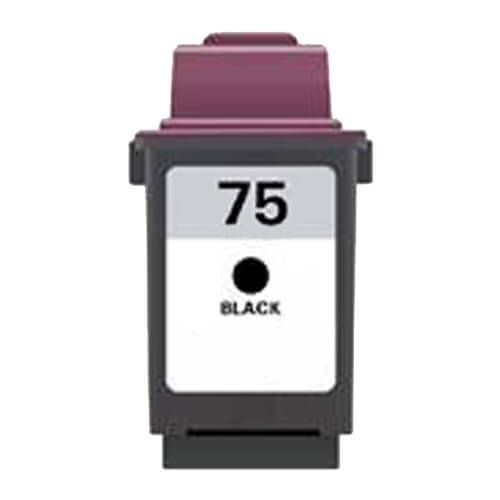 Replacement Lexmark 75 Ink Cartridge Black - 12A1975 High Yield