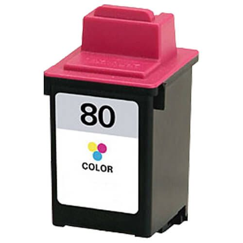 Replacement Lexmark 80 Ink Cartridge Color - 12A1980