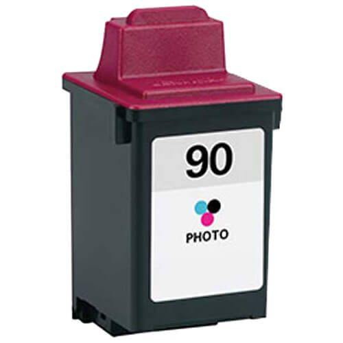 Replacement Lexmark 90 Ink Photo Color Cartridge - 12A1990