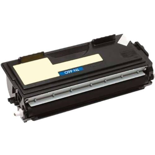 Compatible Brother TN-460 Toner Cartridge - Black - High Yield
