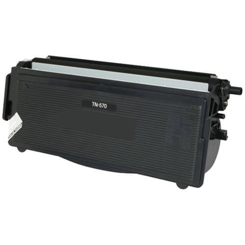 Compatible Brother TN570 Toner Cartridge Black - High Yield