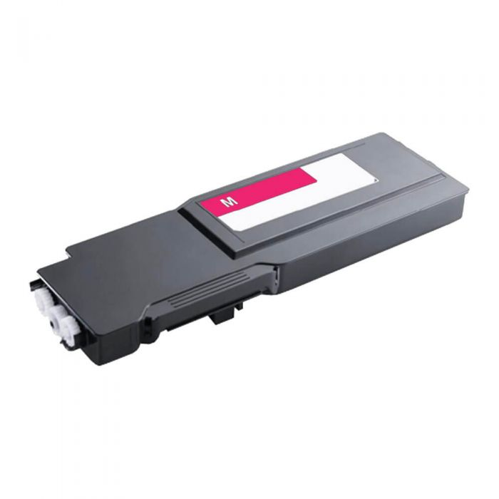 Replacement High Yield Toner to replace Dell C6DN5 Magenta Toner Cartridge for S384X Series Printers