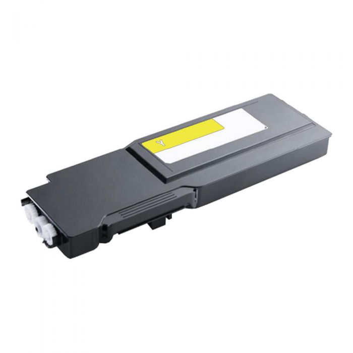 Replacement Dell S3840 Toner Cartridge - XMHGR/593-BCBD/YC7M7 Yellow - Extra High Yield