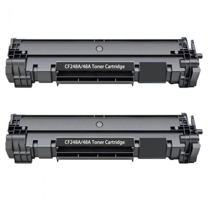 Replacement HP Toner 48A Cartridges - CF248A Black 2-Pack