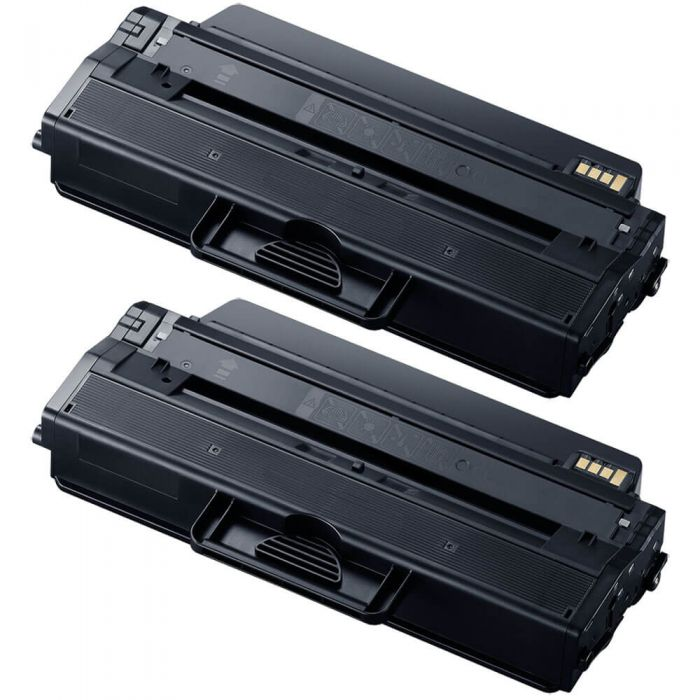 Compatible Samsung 115L Toner Cartridges - MLT-D115L Black 2-Pack - High Yield