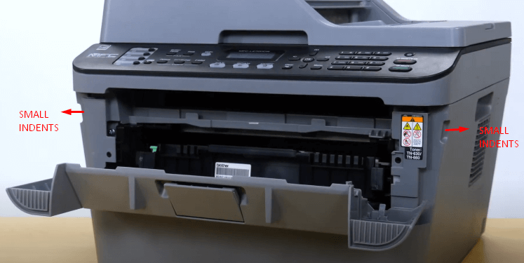 Step 2: change the toner in Brother printer
