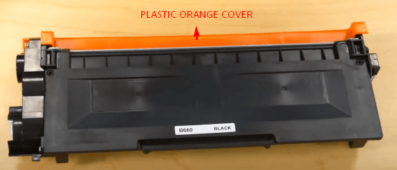 Step 4: change the toner in Brother printer