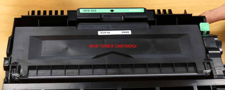 Step 5: change the toner in Brother printer