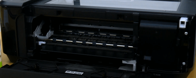 Step 2: change ink in Canon printer