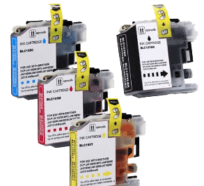 Compatible Brother LC107 & LC105 Ink Cartridges XXL - Super High Yield