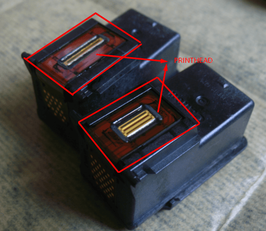 How to clean printhead